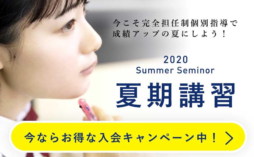 ハイスターズ個別指導学院 2020夏期講習